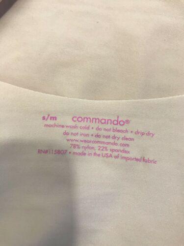 Commando Color Carne Camisola de Tirantes Tanque, Mujer Talla S/M
