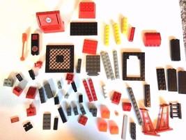 Bulk Lot LEGO Replacement Parts Pieces Red Arctic Door 30288 4625 30283 ... - $14.34
