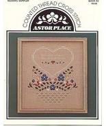 Wedding Sampler...Counted Cross Stitch Pattern - $5.00