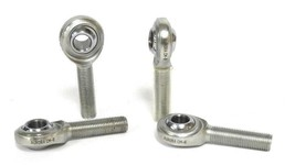 LOT OF 4 NEW AURORA CM-6 ROD ENDS MALE 1/4IN BORE