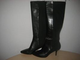 Via Spiga Shoes Size 6 M New Womens Monica Black Leather Fashion Boots NWOB - $177.21
