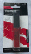Maybelline Vivid Matte Rebel Red Liquid Lipcolor - $6.00