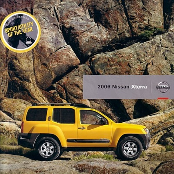 2006 Nissan XTERRA sales brochure catalog US 06