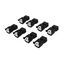 A-Team Performance EV1 To EV6 LS Fuel Injector Adapter LS2 LS3 LSX LT1 (8 Pack) image 3