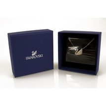Swarovski Signature Swan Pendant with Chain Never Used in Box image 2