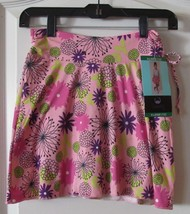 Tranquility by Colorado Clothing Co. Skort Pink Garden Girl's Sz S/7-XL/... - $16.38