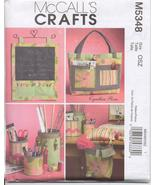 McCall's Crafts 5348 Sewing Organizers - $4.74