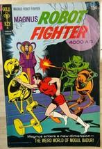 MAGNUS, ROBOT FIGHTER #30 (1972) Gold Key Comics Russ Manning art VG+ - $9.89