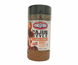 Kingsford Cajun Style Seasoning, Case of Six,  Spicy Louisiana Classic - $17.97