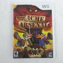 Looney Tunes: Acme Arsenal (Nintendo Wii, 2007) Tested & Working - $5.55