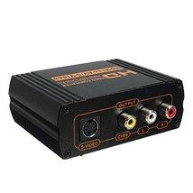 HD 1080P HDMI to RCA AV CVBS Composite S-Video R/L Audio HDCP Converter ... - $47.95