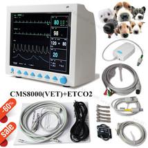 USA,ETCO2 Veterinary Patient Monitor 7 Parameters Vital Signs Monitor+Ca... - $691.02