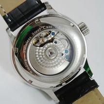 CAPITAL WATCH AUTOMATIC TY2545 MOVEMENT 40 RUBIES POWER RESERVE DOUBLE TIME ZONE image 3