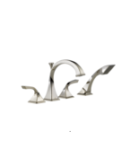 Brizo T67430-PN Virage Deck Mounted Roman Tub Filler With Hand Shower - $494.99