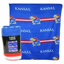 """University Of Kansas Jayhawks Fleece Throw Blanket 50 x 60"""" - $14.36"""