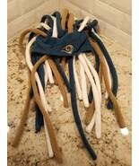 la Rams Knit Dreads Crazy Hat Reebok NFL Blue Gold Beanie a5 - $26.18