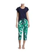 Liz Claiborne Ruffle Sleeve Capri Pajama Set Size XXL New MSRP $34.00 - $16.99