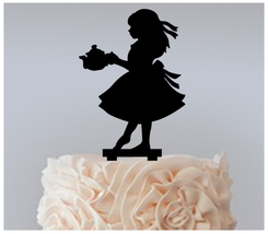 Decorations Cake topper,Cupcake topper,silhouette Alice In Wonderland  : 11 pcs - $20.00