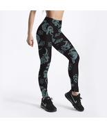 Women Green Dragon Yoga Pants Chinese King Sport Leggings DC Comics Tigh... - $18.49+