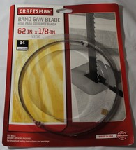 CRAFTMAN 62 IN X 1/8 IN, 14 TEETH PER INCH SAW BLADE #921792 - $19.79
