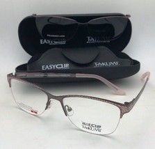 TAKUMI Eyeglasses TK1021 30 54-16 135 Purple Pink Frame w/Grey Polarized... - $249.95