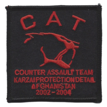 """3"""" ARMY SPECIAL FORCES COUNTER ASSAULT TEAM KARZAI PROTECTION EMBROIDERE... - $17.14"""