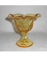 """Westmoreland Doric Ruffled Footed """"Sweetmeat"""" in Yellow - $15.00"""