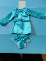 1969 IDEAL CRISSY TRESSY BLUE SATIN DRESS PANTIES w/BELT Factory Oversto... - $34.60