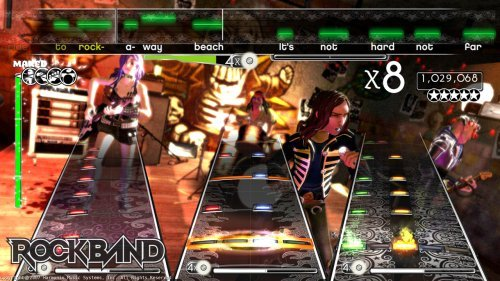 Rock Band, PlayStation 3, PS3, (BLUS-30050)