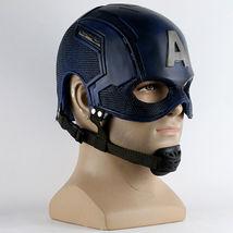 Captain America Steve Rogers Avengers Cosplay Helmet Mask Prop - $54.32+