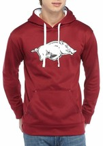 Arkansas Razorbacks Men's Champion Hoodie Poly Fleece Sweatshirt - Size ... - $27.99