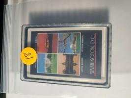 Washington D.C. Souvenir Made in British Hong Kong Deck of Playing Cards   (#18)