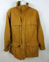 Eddie Bauer Flannel Wool Lined Mountain Parka Men's Field Barn Jacket Si... - $89.09