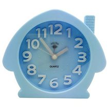 George Jimmy Cute Student Alarm Clock Stylish Silent Bedside Alarm Clock #17 - $29.62
