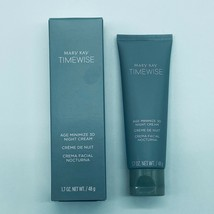 Mary Kay Timewise Age Minimize 3D Night Cream Normal to Dry Skin 1.7 oz New - $24.99
