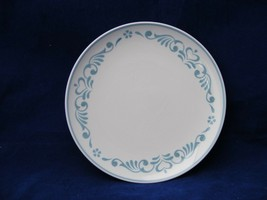 "5 Vintage Franciscan Blue Fancy 6 1/8"" Dessert or Bread Plates - $19.95"