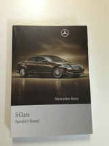 2010 MERCEDES BENZ S CLASS S550 S600 S MODELS Owners Manual OEM Book x - $98.10