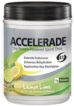 ACCELERADE The Protein-Powered Sports Drink (Lemon Lime) Net.wt. 2.06 lb... - $26.99