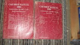 1989 ford tempo & mercury topaz service repair workshop manual set oem 89 - $7.08