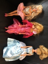 Vintage 1990, 1991, 2000 Disney Mattel Barbie Dolls & Accessories - $59.39