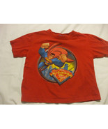 Superman Red T-Shirt Size 3 100% cotton  George - $11.86