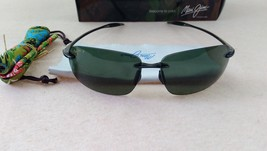 MAUI JIM Sport Sunglasses BREAKWALL HT 422-11 Smoke Gery / High Transmis... - $130.00