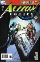 Action Comics Comic Book #877 Superman Dc Comics 2009 Near Mint New Unread - $3.99