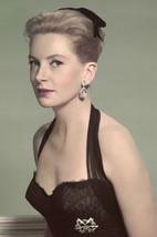Deborah Kerr 1950's Glamour Pose in Low Cut Black Dress 18x24 Poster - $23.99