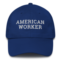 American worker hat / American worker Cotton Cap / American worker / labor day  image 2