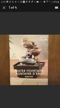 Ashland Indoor Miniature Water Fountain Lights Up - New - $14.84