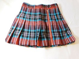 The Children's Place Girl's Youth Skirt Skort Size 10 Multicolor Plaid NWT - $16.03