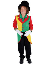 KIDS - Red / Yellow / Green  Tailcoat , Clown / Rio / Jamaica   - ages 3... - $22.52
