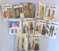 Lot of 11 Simplicity McCalls Womens Patterns Sz 10 - 16 Some Vtg Some uncut - $50.00