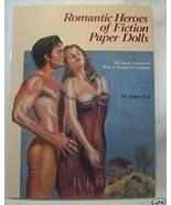 1988 Romantic Heroes of Fiction UNCUT Paper Dolls SEXY - $24.95